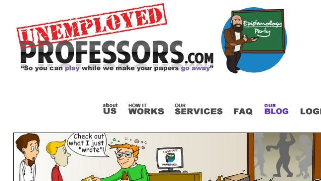 Unemployedprofessors.com