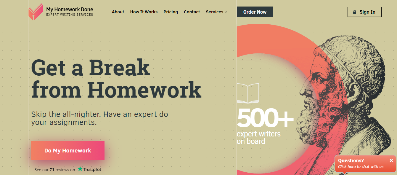 myhomeworkdone review