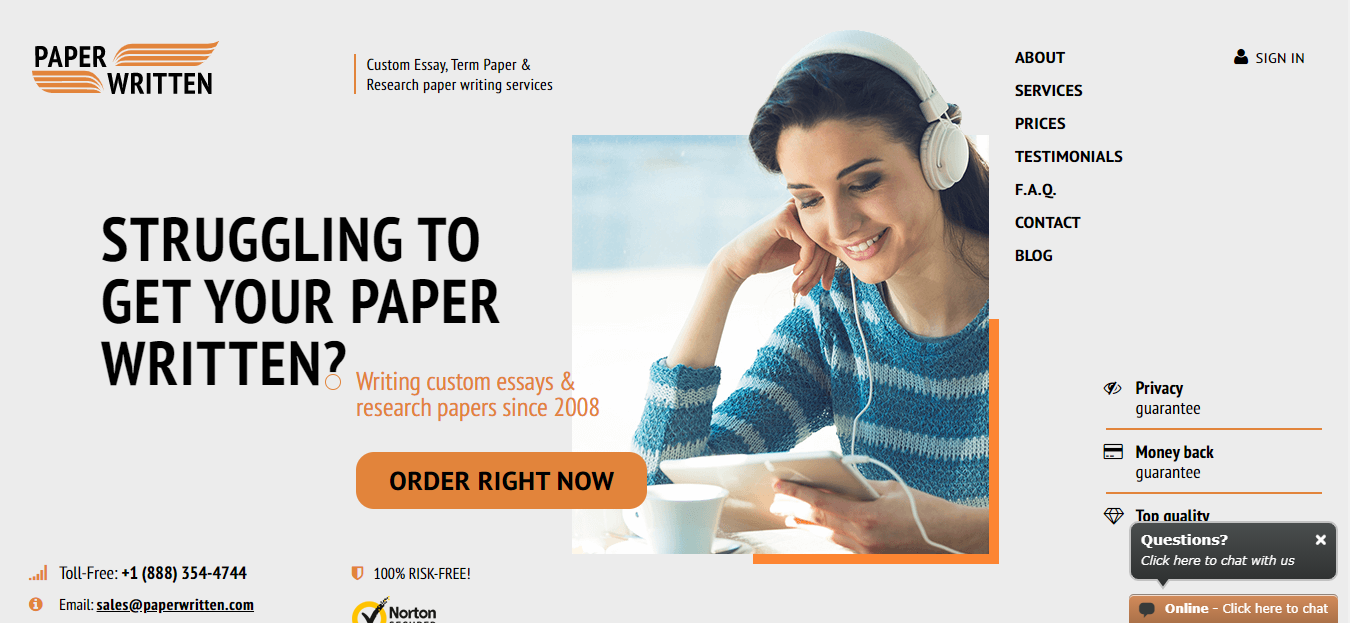 paperwritten review